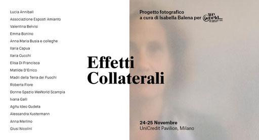 Isabella Balena - EFFETTI COLLATERALI - Mostra fotografica - Maggiori dettagli alla voce NEWS - MOSTRE