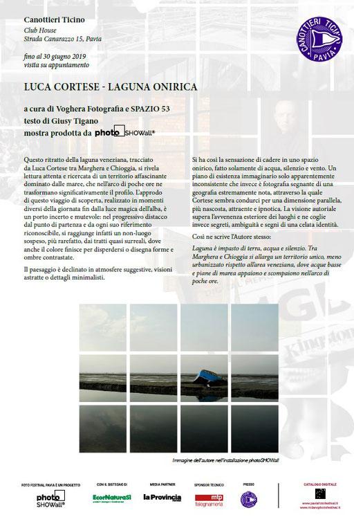 Luca Cortese - LAGUNA ONIRICA   Mostra Fotografica - Maggiori dettagli alla voce NEWS - MOSTRE