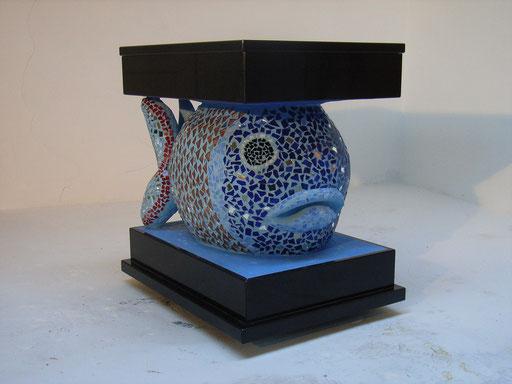 Aquarium 2005, Gasbeton, Granit, Mosaik