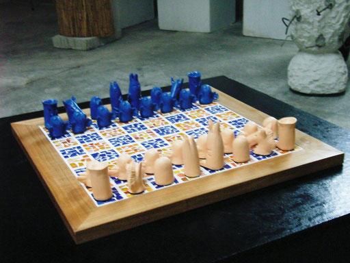 Schachspiel  Barbapapa - Unikat