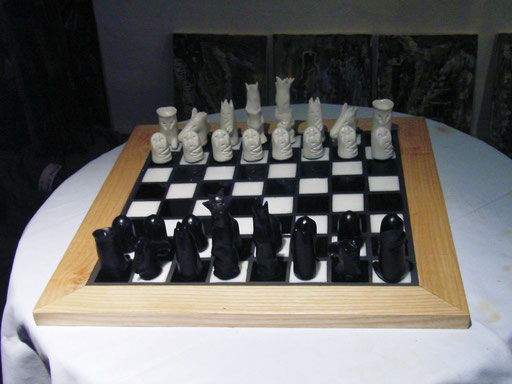 Schachspiel - Unikat