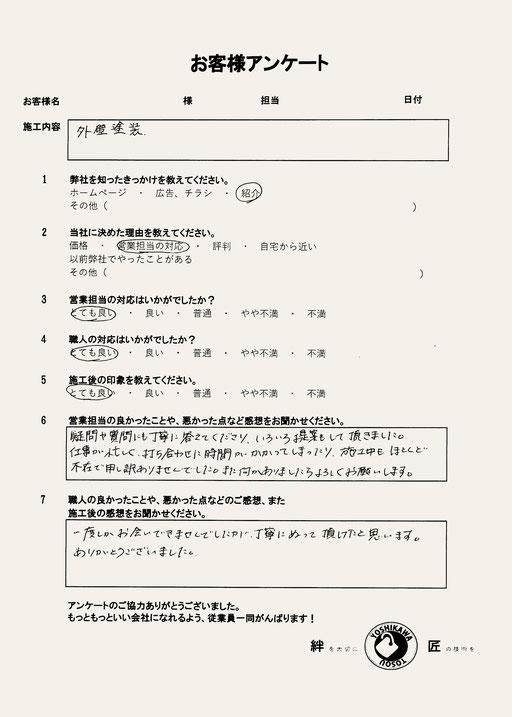 岐阜県関市 吉川塗装 外壁塗装の窓 ドアーズ