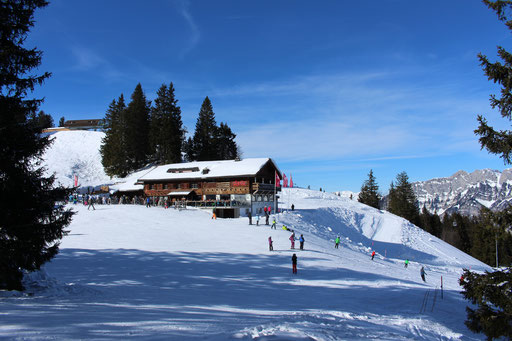 Bergrestaurant Chrüz im Winter