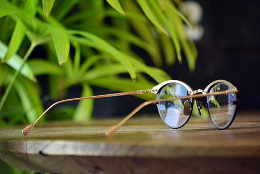 ◎フレーム:AKITTO/bin ◎レンズ:Ito Lens/1.74薄型両面非球面レンズ