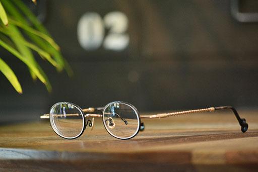 ◎フレーム:VioRou/Taigo-2 ◎レンズ:Ito Lens/1.74両面非球面レンズ