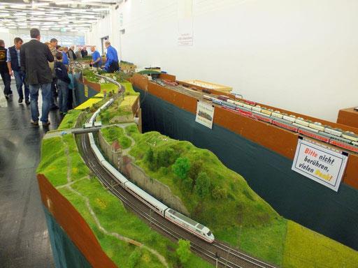 eine kleine Anlagenübersicht der Ausstellung