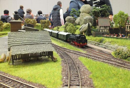 BR64 der DR kurzer Halt mit dem P-Zug