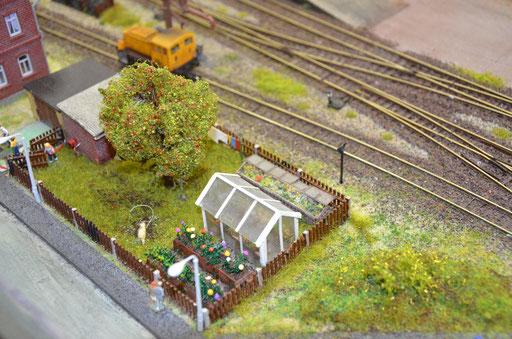 der Garten des Bahnhofvorstehers