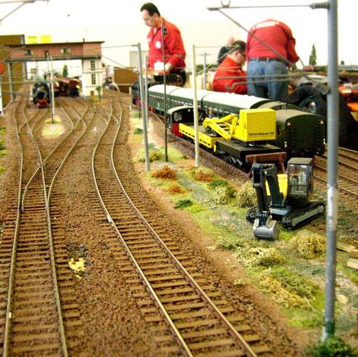 Spur0  Einfahrtsgleise in den Bahnhof