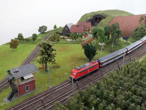 """Abzweig Reichertshausen """"von Stuttgart Richtung Schweiz"""""""
