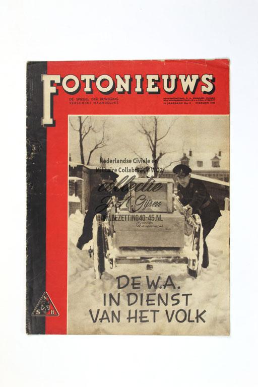 Fotonieuws - De Spiegel der Beweging - 2e jaargang, nummer 2 – 1942