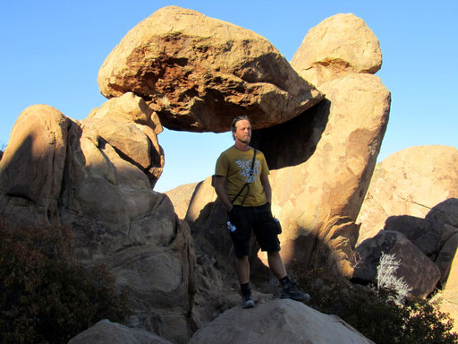 *BALANCED ROCK* IN DEN *GRAPEVINE HILLS*