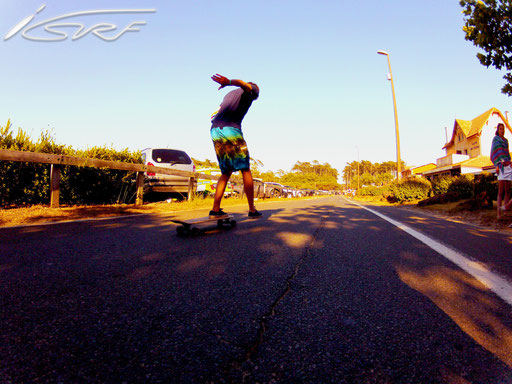 Team Isurf France longboarding