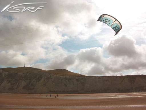Team Isurf Cap Blanc Nez session