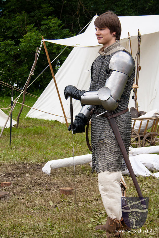 Kämpfer Daniel ist für jede Schlacht bereit! /Foto: Julia