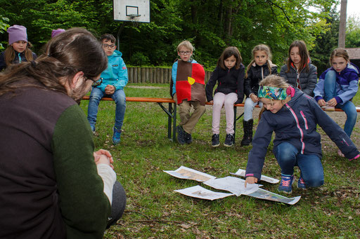 Zu erst erarbeiteten die Kinder die theoretischen Grundlagen. /Foto: Stephan