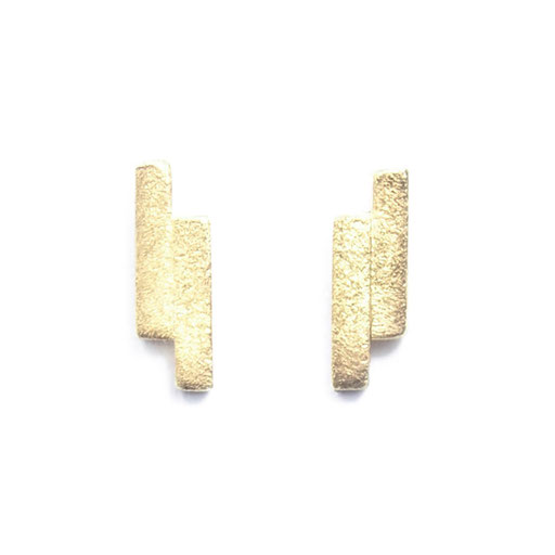 Squarewire earrings short