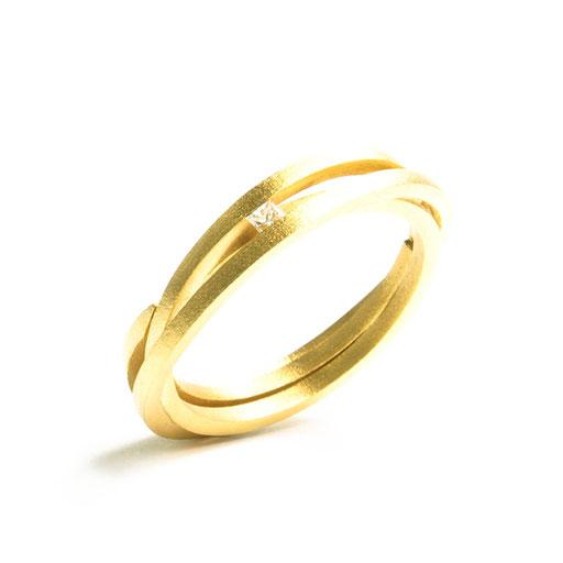 Amets Bar Ring Thin