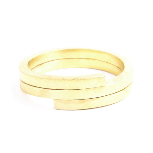 Squarewire Ring