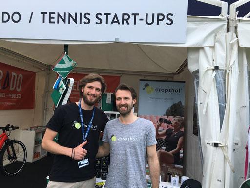 Matteo und Max - die Gründer von dropshot