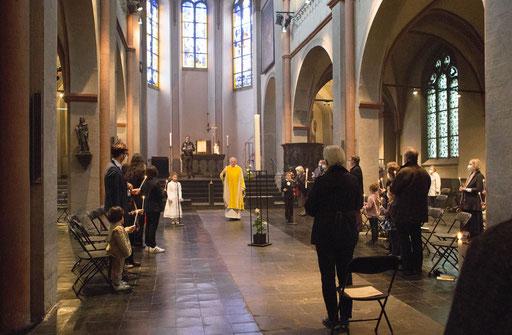 Erstkommunion in St. Maria Lyskirchen (Foto: Anna C. Wagner)