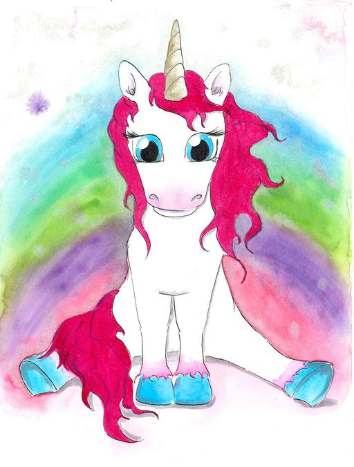 Kleines Einhorn #unicorn
