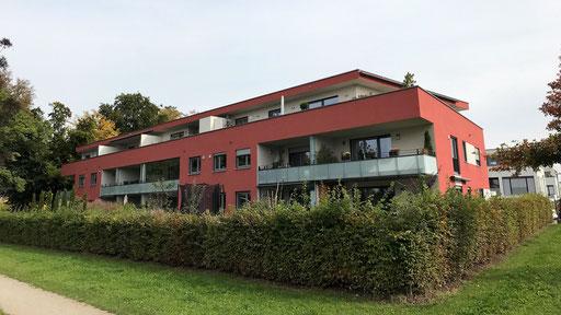Wärmedämmverbundsystem mit StoTherm Classic Putz und Fassadenanstrich