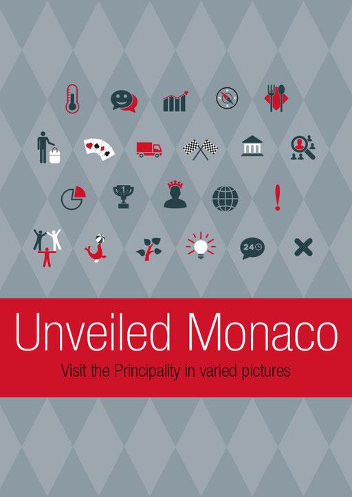 Umschlag-Gestaltung, Satz (Infografik: Coop 4) • Fürstentum Monaco