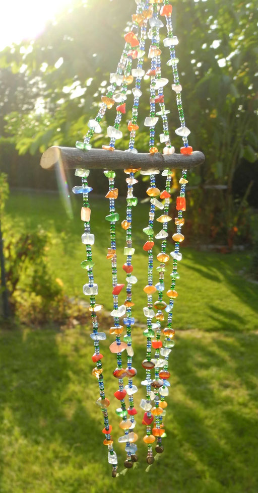 Sonnenfänger aus Glasperlen
