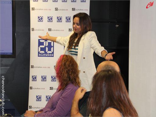 Encuentro de Fans con Chenoa 16/09/2013 Fotos Celia de la Vega