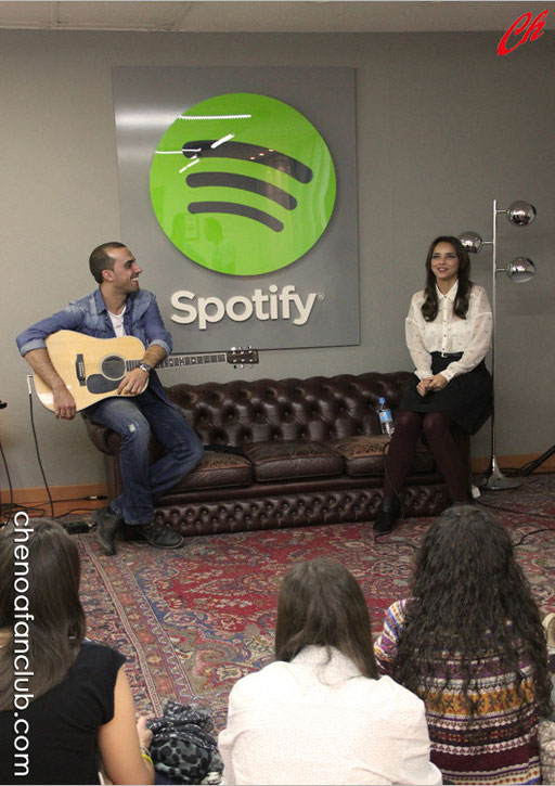 Showcase de Chenoa con Spotify - 13/11/2013