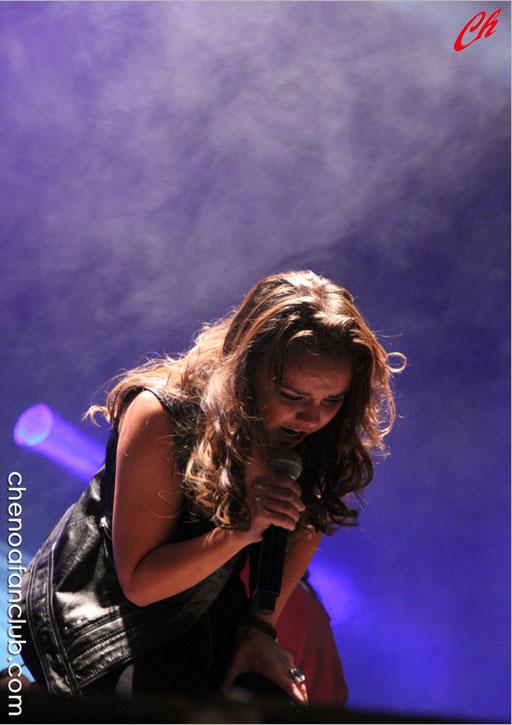 Concierto Móstoles (Madrid) 12/09/13 Foto Celia de la Vega