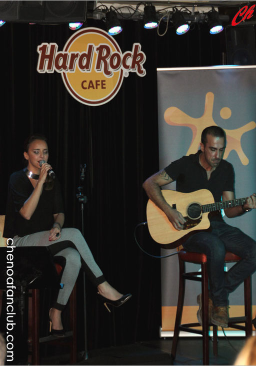 Acústico en Hard Rock de Madrid 25/09/2013 Fotos Celia de la Vega