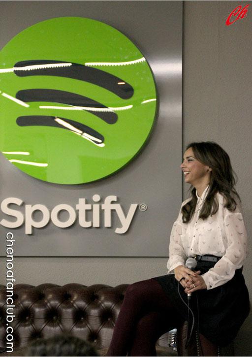 Showcase de Chenoa con Spotify - 13/11/2013