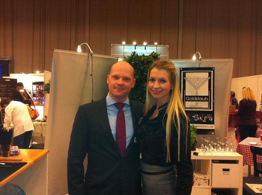 Caro und Andreas auf der Salon Sanssouci Potsdam