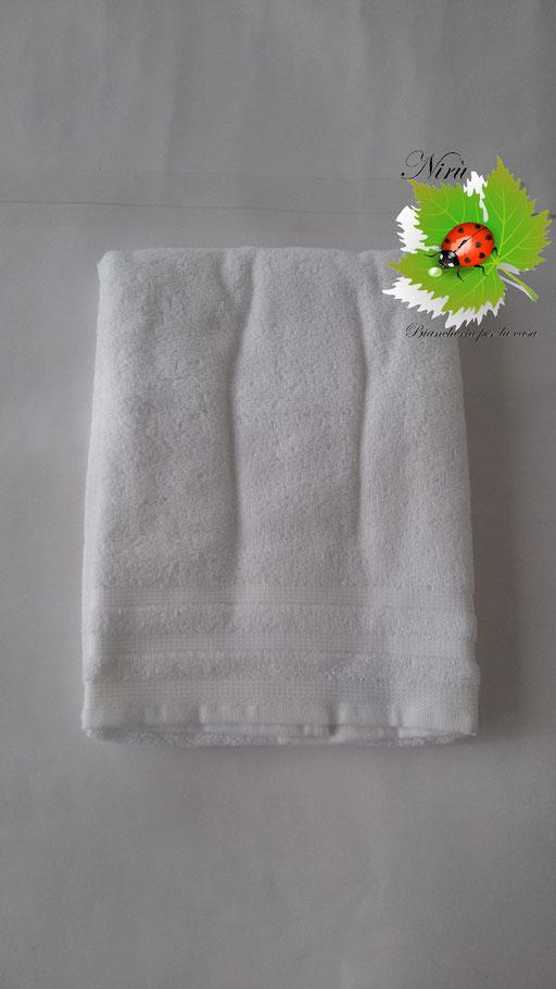 Asciugamani Bassetti 1+1 Bianco N65