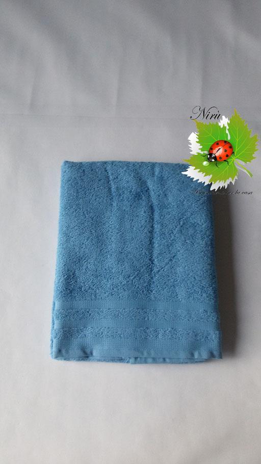 Asciugamani Bassetti 1+1 Azzurro N65