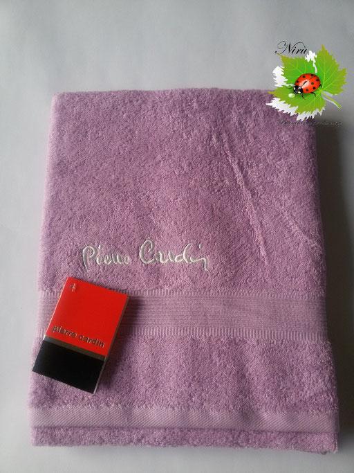 Asciugamano Pierre Cardin 1+1 col. Glicine Chiaro Art.A115
