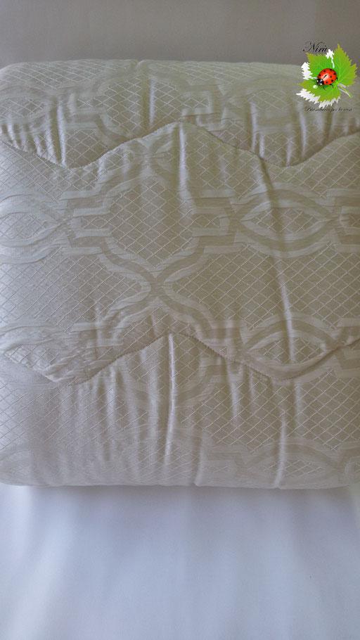 Trapunta piumone invernale Maya di Laura Blasi matrimoniale due piazze. Col.Panna.A966