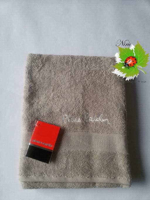 Asciugamano Pierre Cardin 1+1 col. Beige Art.A115