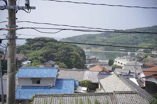学校からの景色(馬渡島)