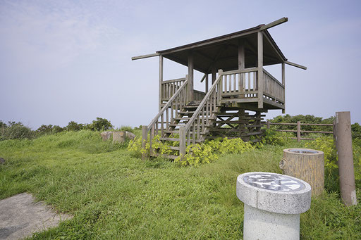 番所の辻、360度景色が見渡せ、長崎の島々も見渡せる(馬渡島)