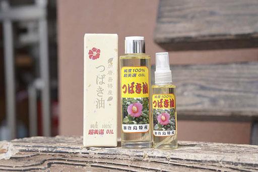 加唐島の椿油は島で採れた種だけを非加熱で絞っています(加唐島)