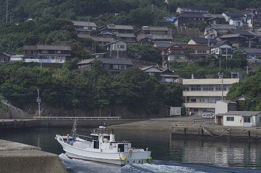 加唐島の集落(加唐島)