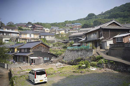 宮ノ本集落(馬渡島)