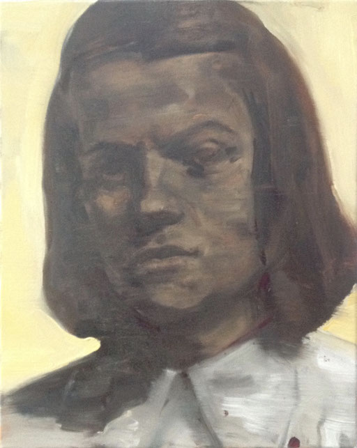 'Sophie S.' , 2016 ,  oil on canvas , 40x50 cm