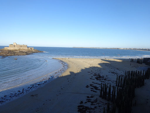 Plage de l'Eventail, Saint-Malo