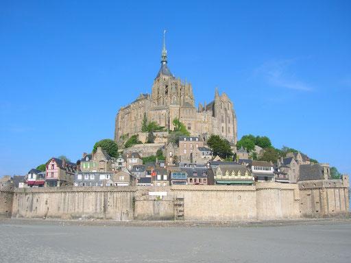 Mont Saint-Michel, vue sud-est
