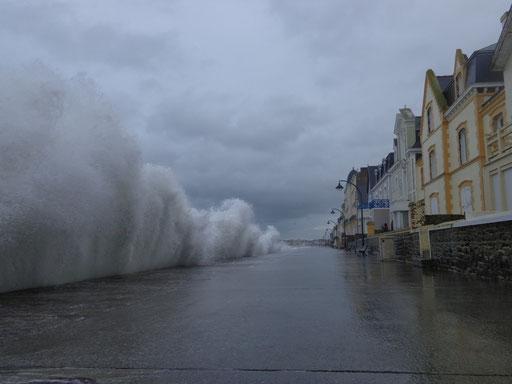 Grande marée à Saint-Malo, 4 janvier 2014
