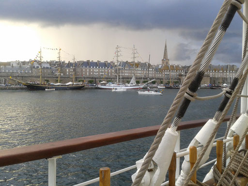 Tall Ship Race, St-Malo, juillet 2012